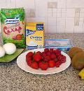 Безе с кремом и фруктами. Шаг 1