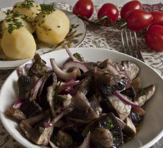 Рецепт Хе из грибов