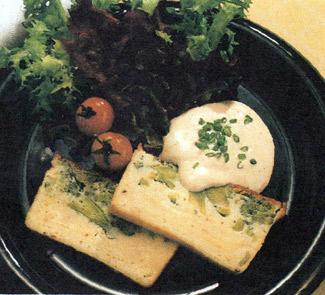 Рецепт Сырный паштет с брокколи