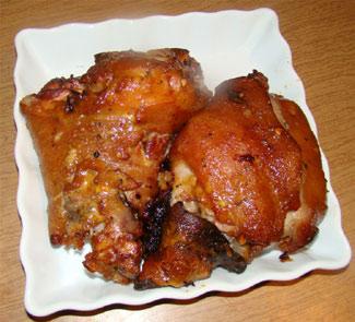 Рецепт Свиная рулька в пиве с медом