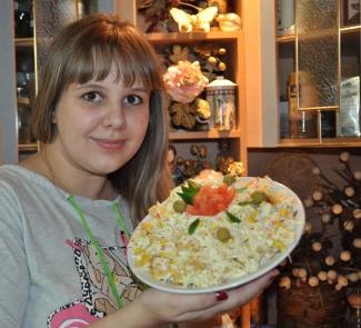 Рецепт Салат Санта - Барбара