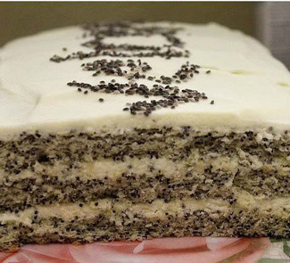 Рецепт Маковый торт
