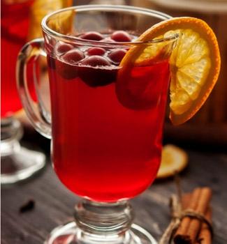 Рецепт чая из клюквы