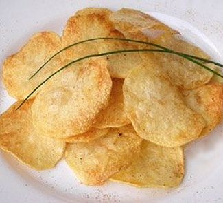 Как приготовить чипсы в микроволновке - рецепт с фото