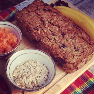 Овсяно-банановый кекс-коврижка без муки и сахара, пошаговый рецепт с фото