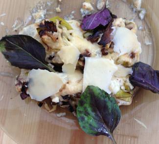 Рецепт Каннелони с мясом и грибами