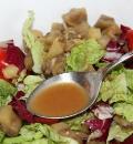 Свиные ребра-гриль с салатом из запеченных баклажанов. Шаг 6