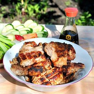 Рецепт Свинина в медово-имбирном маринаде