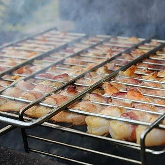 Рецепт Креветки в беконе