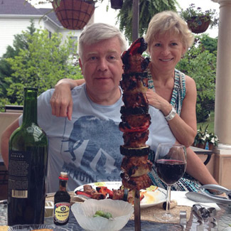 Рецепт Баранина с помидорами и кабачком