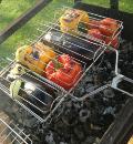 Овощи на гриле. Шаг 1