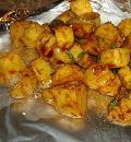Картофель в фольге . Шаг 1