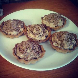 Рецепт Шоколадные корзиночки с кремом