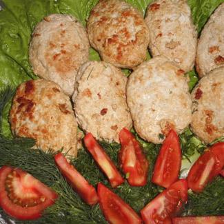 Рецепт Котлеты с овощами