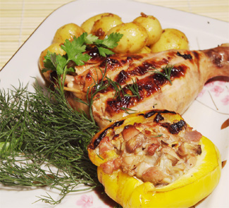Рецепт Ужин для любимой