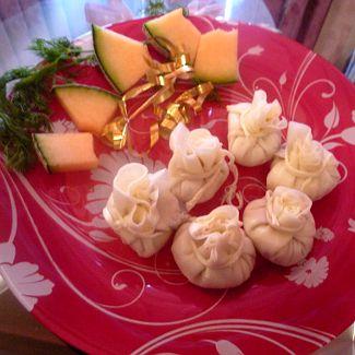 сырные мешочки рецепт с