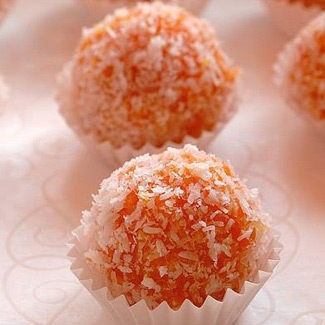 Рецепт Морковные конфеты