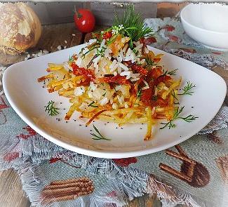 Рецепт Картофель-пай с рисовым миксом