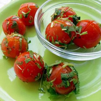 Рецепт Малосольные помидоры черри