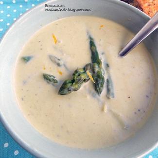 Рецепт Холодный спаржевый суп
