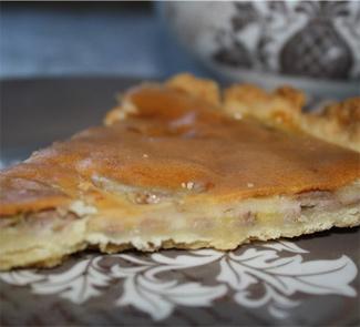 Рецепт Пирог с бананами и сыром