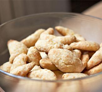 Сырное печенье, пошаговый рецепт с фото