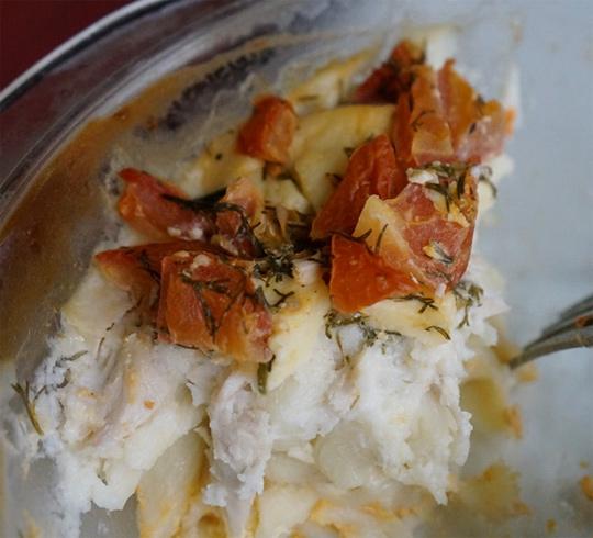 Рецепт Запеканка из пенне с индейкой и томатами
