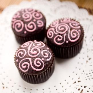Веганские шоколадные маффины, пошаговый рецепт с фото