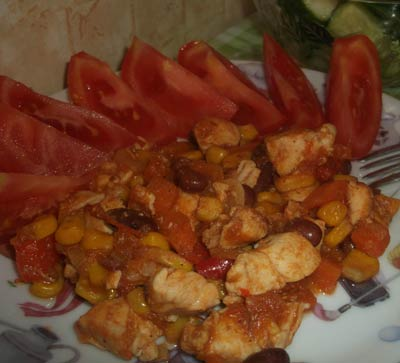 Рецепт Рагу по-мексикански
