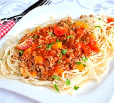 болоньезе паста итальянский рецепт