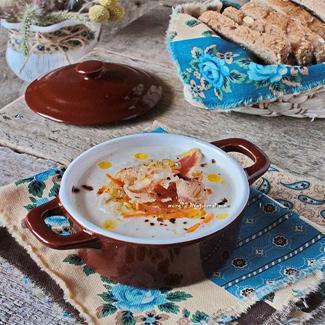 Рецепт Суп-пюре из запеченного корня сельдерея