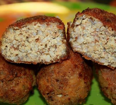 Рецепт Гречаники с мясом и базиликом