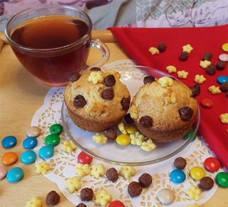 Рецепт Кексики-вкусняшки