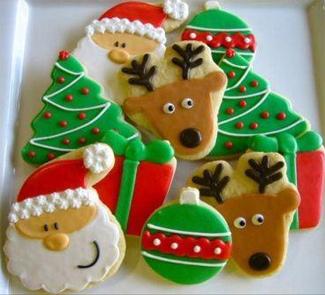 Рецепт Новогоднее имбирное печенье из Финляндии