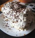 Торт Сугроб, пошаговый рецепт с фото