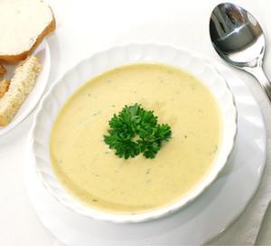Крем-суп из белой фасоли, пошаговый рецепт с фото