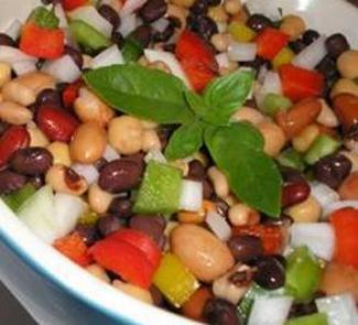 Рецепт Салат-винегрет из фасоли